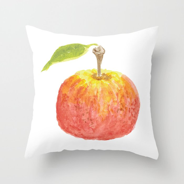 The Perfect Apple Throw Pillow
