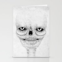 calavera Stationery Cards featuring Calavera by Cobrinha