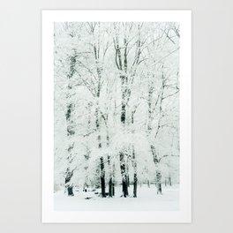 frosted Kunstdrucke