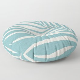 Vintage Palm Frond Floor Pillow