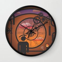 i see no time Wall Clock