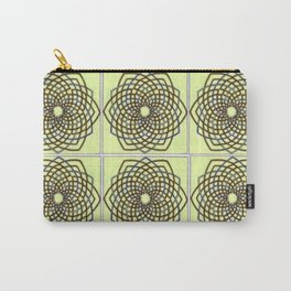 Green and Gold Celtic Knot Carry-All Pouch