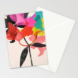 lily 5 Stationery Cards