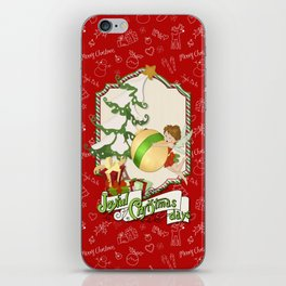 Fairy Merry Christmas iPhone Skin