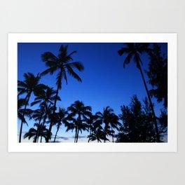 Palm Gardens Art Print