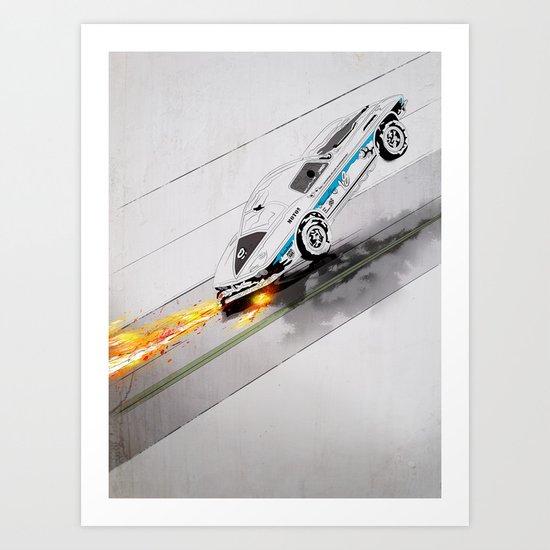 Speed King Art Print