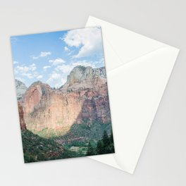 Zion National Park - Utah Natural Landscape, Sunset Photography Stationery Cards