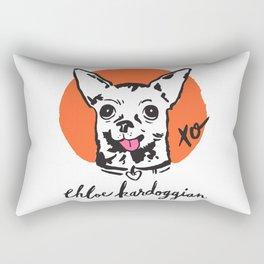 Chloe Kardoggian Illustration with Signature Rectangular Pillow
