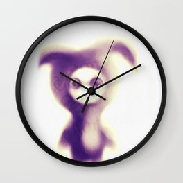 an intelligent bunny is simply intelligent... Wall Clock