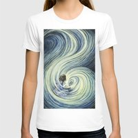 waterfall T-shirts featuring Waterfall by Anneliese Juergensen