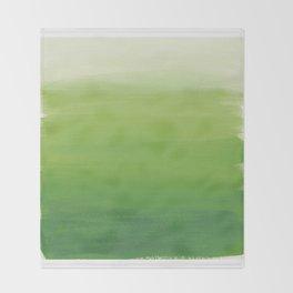 Greens No. 1 Throw Blanket