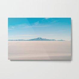 Uyuni Salt Flat  Metal Print