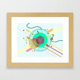 Tasty Visuals - Speaker Blast Framed Art Print