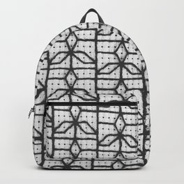 three point window grille design Backpack