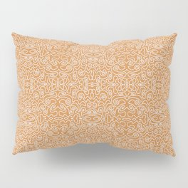 Annabella in Orange Pillow Sham