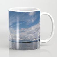 oslo Mugs featuring Infinite: Oslo Harbor by Patti Toth McCormick