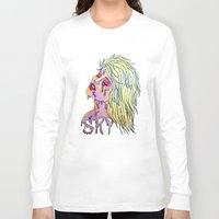 sky ferreira Long Sleeve T-shirts featuring Sky Ferreira by Montana