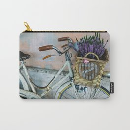 Sognare: Dream BIG Lavender Bicycle Carry-All Pouch