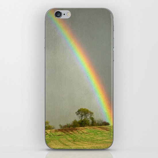 Lincolnshire Wolds Rainbow iPhone & iPod Skin