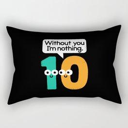 I Owe You, One Rectangular Pillow