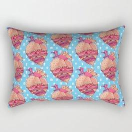 Inner Fast Food Rectangular Pillow