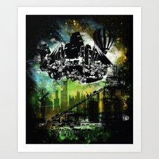 Noah's ark 2012 Art Print