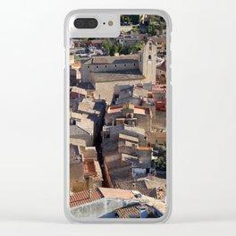 Begur Clear iPhone Case