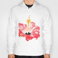 hibiscus Hoodies featuring Hibiscus by Regan's World