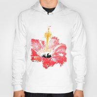 hibiscus Hoodies featuring Hibiscus by Regan's World