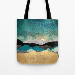 Peacock Vista Tote Bag