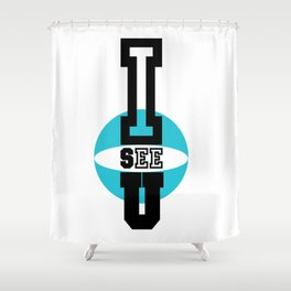 TeVeo Shower Curtain
