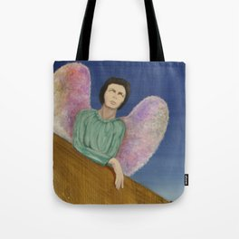 looking indifferent Tote Bag