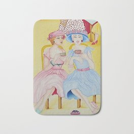 1950 High Tea Bath Mat