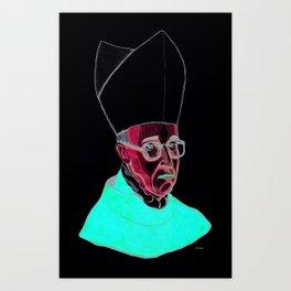 PAPA VERGOLIO by ANDONELLA Art Print