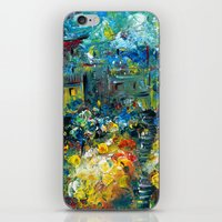 switzerland iPhone & iPod Skins featuring SWITZERLAND by Kelli Gedvil
