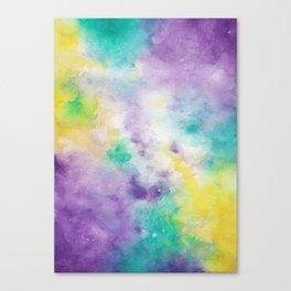 Obnoxious Galaxy Canvas Print
