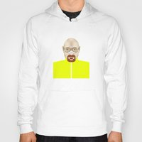 walter white Hoodies featuring Walter White by Matteo Lotti