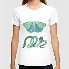 Moth and Snake T-shirt