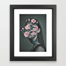 Inner beauty Framed Art Print