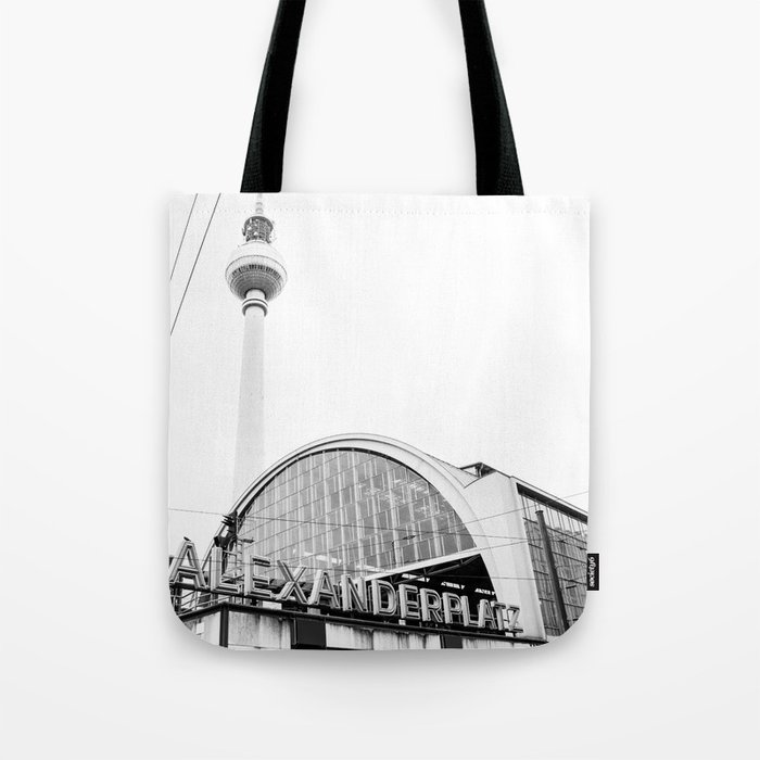 Berlin Alexandraplatz Tote Bag