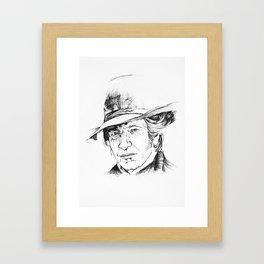 Colonel Framed Art Print