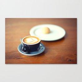 Macchiato with Love Canvas Print
