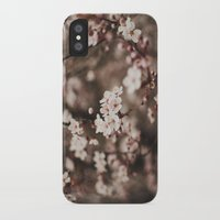 cherry blossom iPhone & iPod Cases featuring Cherry Blossom by Evan Dalen