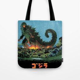 Godzilla - Blue Edition Tote Bag
