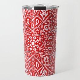 Amirah Red Travel Mug