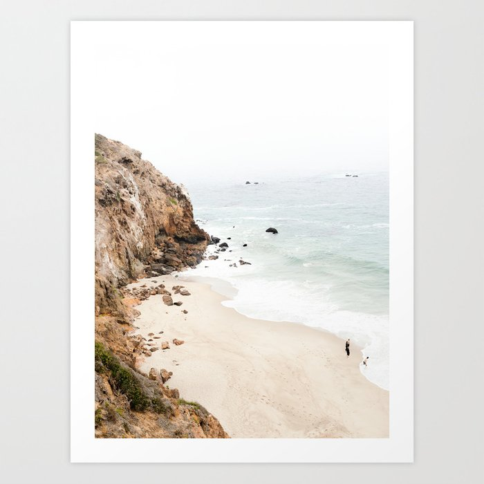 Malibu California Beach Kunstdrucke