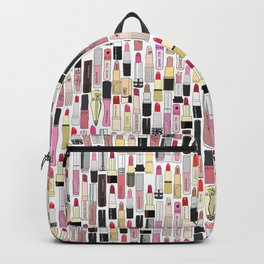Lipsticks Makeup Collection Illustration Backpack