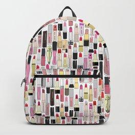 Lipsticks Makeup Collection Illustration Backpack