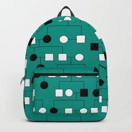 Pedigree Analysis - Autosomal Recessive Backpack