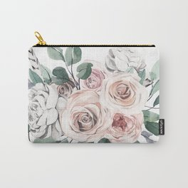 Dressed in flowers Carry-All Pouch